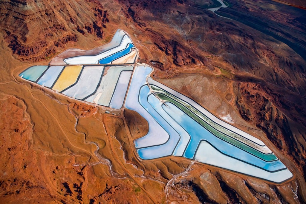 Intrepid Potash Mine, near Moab, Utah