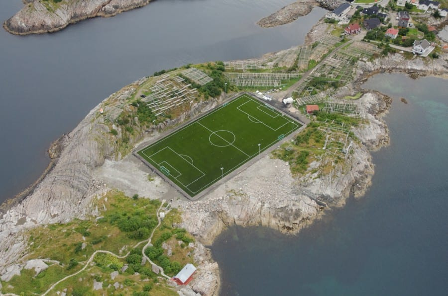 Amazing_soccer_pitch_in_lofoten_islands_norway on Memory Of A Gold Fish